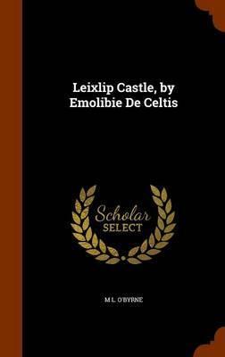 Leixlip Castle, by Emolibie de Celtis by M L O'Byrne