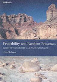 Probability and Random Processes by Geoffrey Grimmett