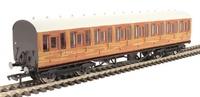Hornby: LNER Thompson Non-corridor 3rd Class Coach Teak image