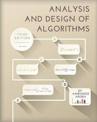 Analysis and Design of Algorithms by Amrinder Arora