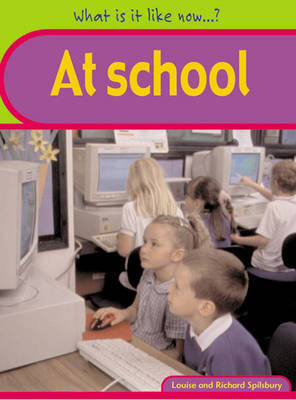 What is it like? At School Paperback by Tony Pickford