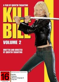 Kill Bill Volume 2 on DVD image