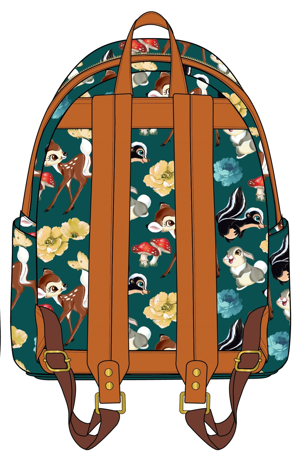 43daef80774 ... Loungefly  Disney Bambi   Friends - Mini Backpack image ...