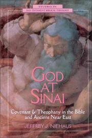 God at Sinai by Jeffrey J. Niehaus