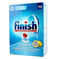 Finish Pk110 Powerball Dishwashing Tablets Classic Lemon Sparkle
