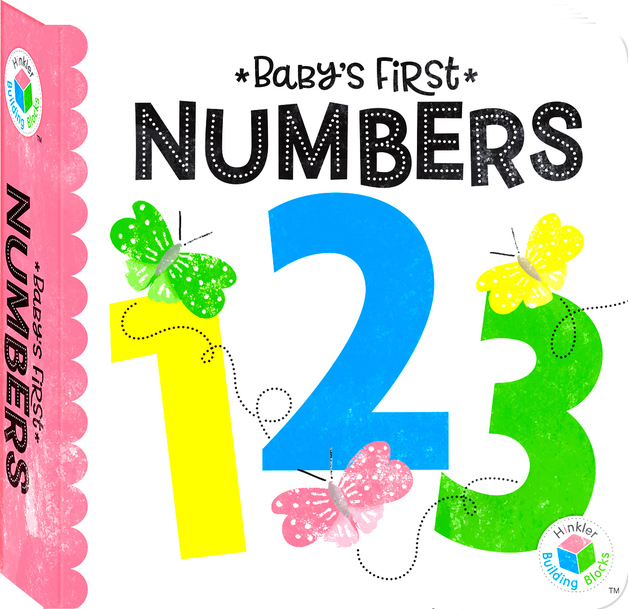 Building Blocks: Neon Baby's First - Numbers Book