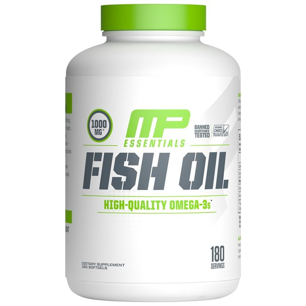 MusclePharm: Essentials Fish Oil (90 Capsules)