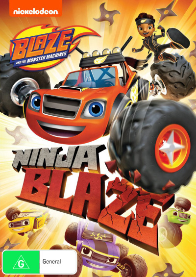 Blaze and the Monster Machines: Ninja Blaze on DVD image