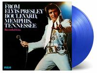 From Elvis Presley Boulevard, Memphis, Tennessee (coloured) by PRESLEY