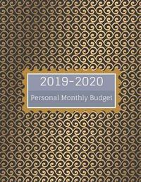 2019-2020 Personal Monthly Budget by Rosemary Gibson