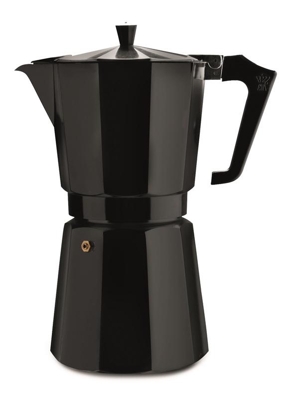 Pezzetti: Italexpress Aluminium Coffee Maker - Black (9 Cups)