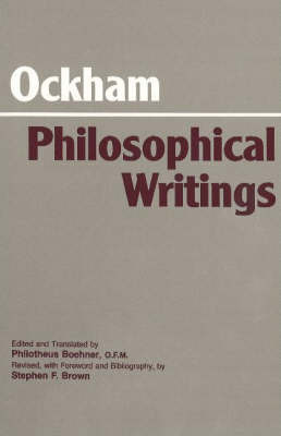 Ockham: Philosophical Writings by William of Ockham image
