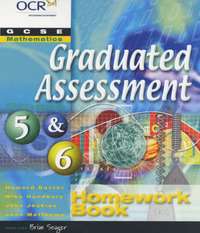 GCSE Mathematics for OCR (Graduated Assessment): Stages 5 & 6: Homework Book by Howard Baxter image