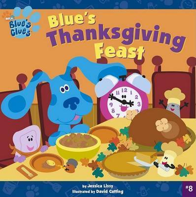 Blues Thanksgiving Feast Blu by Lissy 8x8 Paperback