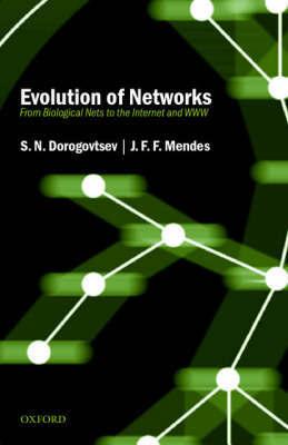 Evolution of Networks by S.N. Dorogovtsev image