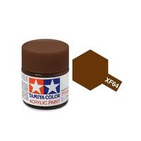 Tamiya Acrylic: Red Brown (XF64)