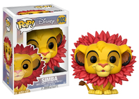 The Lion King: Simba (Leaf Mane Ver.) Pop! Vinyl Figure