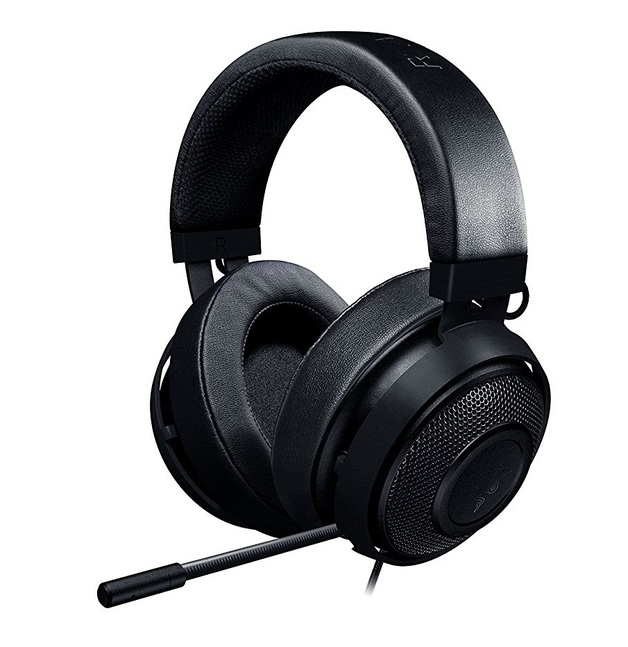 Razer Kraken 7.1 V2 Oval Gaming Headset - Black for PC Games