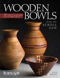 Wooden Bowls from the Scroll Saw by Carole Rothman image
