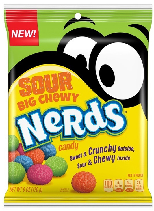 Nerds Sour Big Chewy 170g image
