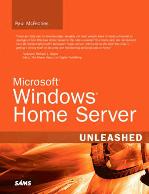 Microsoft Windows Home Server Unleashed by Paul McFedries image