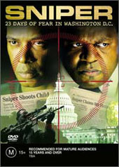 Sniper - 23 Days Of Fear In Washington D.C. on DVD