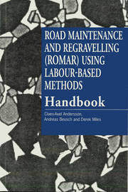 Road Maintenance and Regravelling (ROMAR) Using Labour-Based Methods by Claes-Axel Andersson image