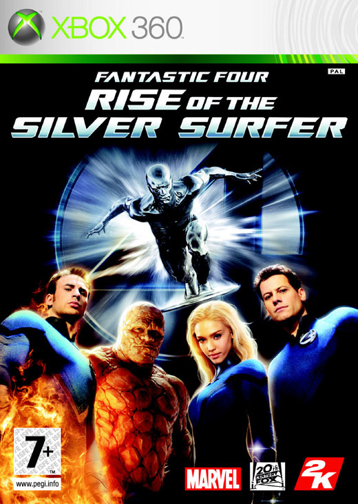Fantastic 4: Rise of the Silver Surfer for Xbox 360