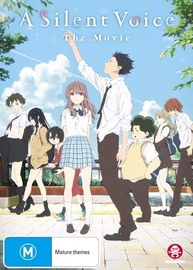 A Silent Voice on DVD