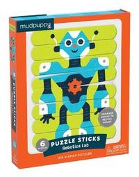 Mudpuppy: Robotics Lab - Puzzle Sticks