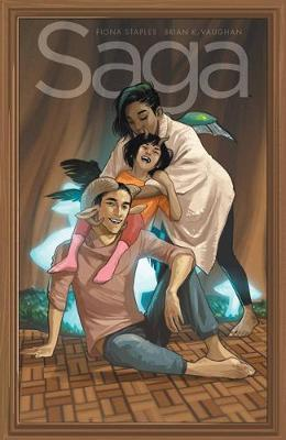 Saga Volume 9 by Brian K Vaughan