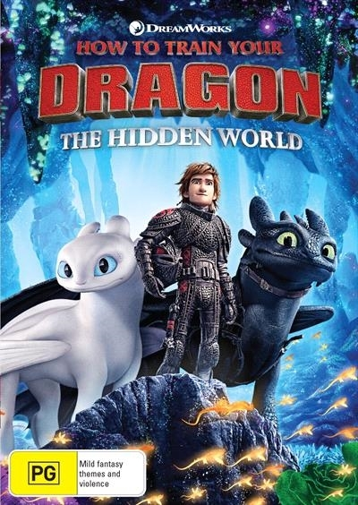 How To Train Your Dragon: The Hidden World on DVD