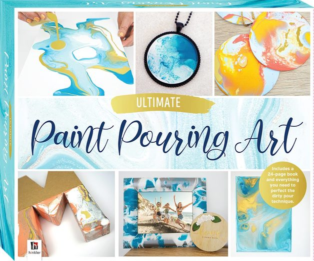 Hinkler: Ultimate Paint Pouring Art - Box Set