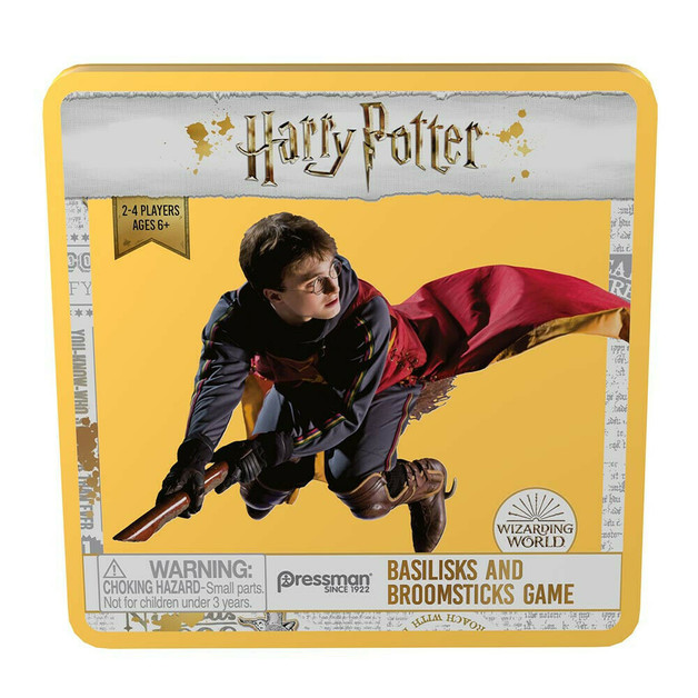 Harry Potter: Basilisks & Broomsticks - Board Game
