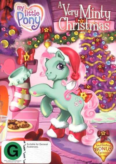 My Little Pony: A Very Minty Christmas on DVD
