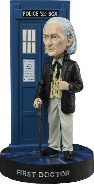 Doctor Who First Doctor with TARDIS Bobble Head