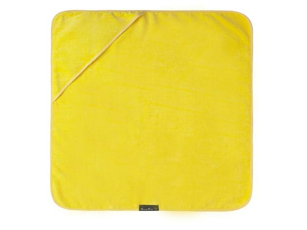 Mum 2 Mum Hooded Towel - Yellow