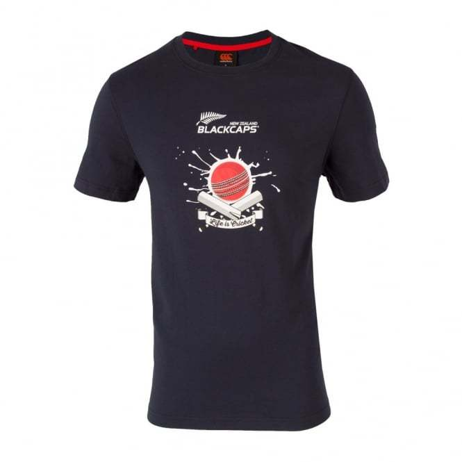 NZ Blackcaps Mens Eclipse Supporters Tee (2XL) image