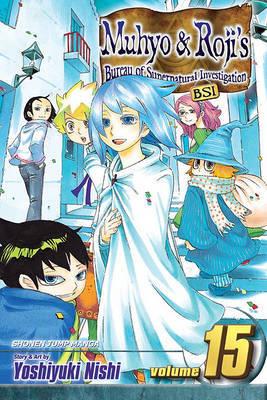 Muhyo & Roji's Bureau of Supernatural Investigation, Volume 15 by Yoshiyuki Nishi image