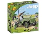 Cobi: Small Army - Willy's Jeep - Machine Gun