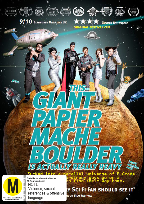 This Giant Papier Mache Boulder Is Actually Really Heavy on DVD image