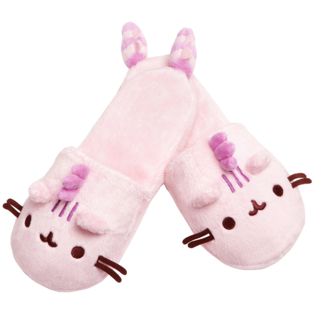 Pusheen the Cat - Cotton Candy Slippers