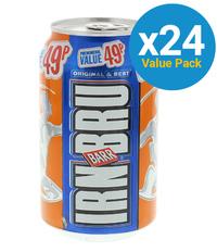 Barr IRN BRU 330ml (24 Pack)