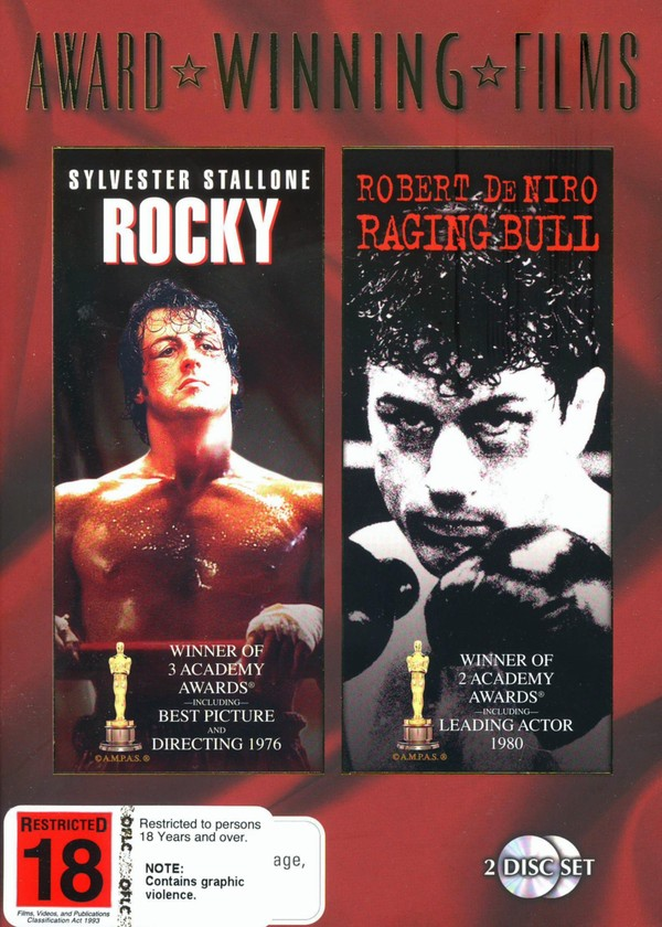 Rocky / Raging Bull (Award Winning Films) (2 Disc Set) on DVD image