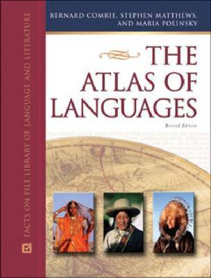 The Atlas of Languages by Bernard Comrie image