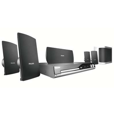 Philips HTS3105 DivX Ultra DVD Home Theatre System image