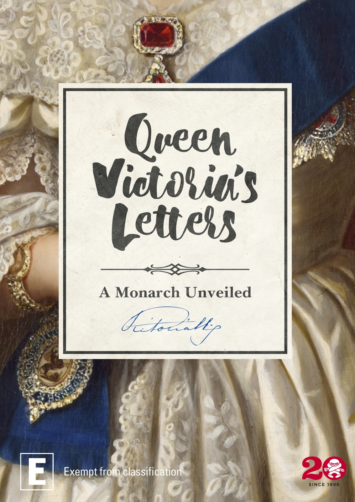 Queen Victoria's Letters on DVD image