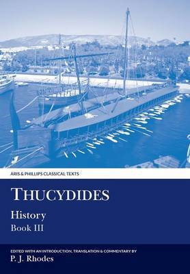 Thucydides: History, Book III by Peter J. Rhodes image