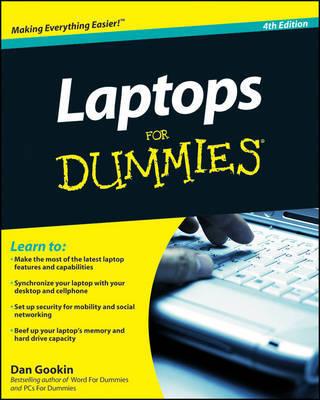 Laptops For Dummies by Dan Gookin