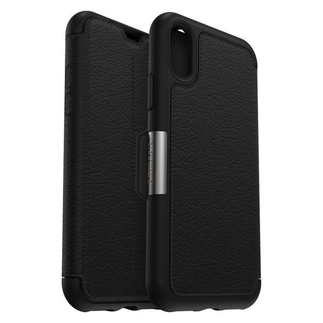 OtterBox: Strada for iPhone Xs - Onyx